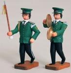 Tambourmajor und Becken
