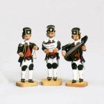 Barockbergleute  3 Stck  - Sänger -