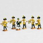 Sächsische Hofbläser   - 6 Figuren
