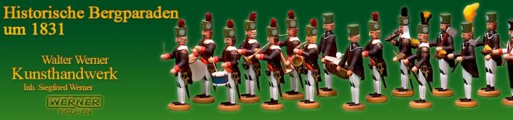 Historische Bergparaden um 1831