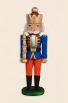 Min. Nußknacker  - König  blau