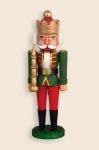 Min. Nußknacker  - König  grün