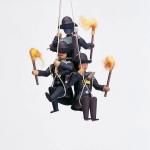 3 Bergleute am Seil - Traube -