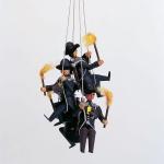 4 Bergleute am Seil - Traube -