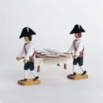 2 Träger mit Stollenbrett