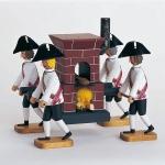 Bäckerofen mit 4 Trägern