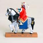 Markgraf - Konrad der Große zu Pferd