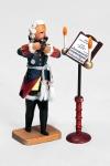 Alter Fritz beim Flötenspiel