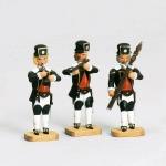 Barockbergleute  3 Stck  - Musiker -