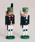 Miniatur Nussknacker, Bergmeister und Hauer