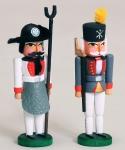 Miniatur Nussknacker, Schmelzer und Hüttenoffiziant