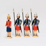 Herodes und 3 Kriegsknechte