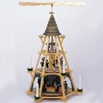 Bergmannspyramide mit Mettenschicht